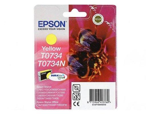 Картридж струйный Epson C13T10544A10 картридж (Yellow C79/CX3900/CX4900/CX5900 (желтый))
