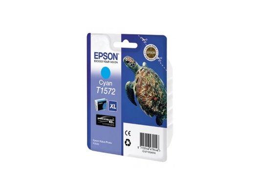 Картридж струйный Epson C13T15724010 cyan для Stylus Photo R3000 (850стр)