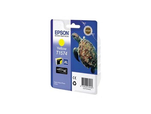 Картридж струйный Epson C13T15744010 yellow для Stylus Photo R3000 (850стр)