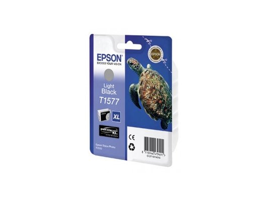 Картридж струйный Epson C13T15774010 light black для Stylus Photo R3000 (850стр)