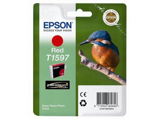 Картридж струйный Epson C13T15974010 картридж (Red для Stylus Photo R2000 (красный))