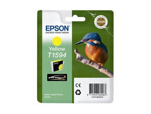 Картридж струйный Epson C13T15944010 картридж (Yellow для Stylus Photo R2000 (желтый))