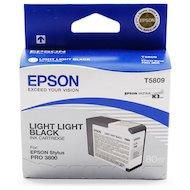 Фото Картридж струйный Epson C13T580900 картридж (Light Light Black для Stylus PRO 3800 (светло-серый))