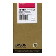 Картридж струйный Epson C13T603B00 картридж (Magenta для Stylus PRO 7800/9800 (220ml) (пурпурный))