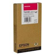 Фото Картридж струйный Epson C13T603B00 картридж (Magenta для Stylus PRO 7800/9800 (220ml) (пурпурный))