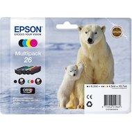 Фото Картридж струйный Epson C13T26164010 Набор из 4 картриджей для Expression Premium XP-70