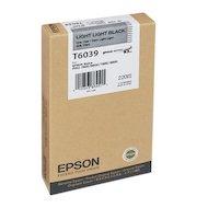 Картридж струйный Epson C13T603900 картридж (Light Light Black для Stylus PRO 7800/7880/9800/9880 (220ml))
