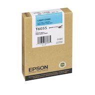 Фото Картридж струйный Epson C13T605500 картридж (Light Cyan для Stylus Pro 4800/4880 (110ml) (светло-голубой))
