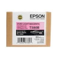Фото Картридж струйный Epson C13T580B00 картридж (Vivid Light Magenta для Stylus PRO 3800 (насыщенный светло-пурпурный))