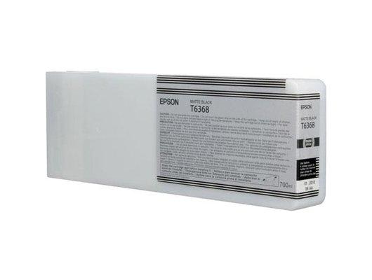 Картридж струйный Epson C13T636800 картридж (Matte Black для Stylu PRO 7900/9900 (700ml) (матовый черный))