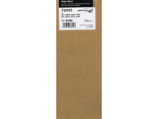 Картридж струйный Epson C13T694500 картридж (Matte Black для T3000/5000/7000 (700ml) (матовый черный))
