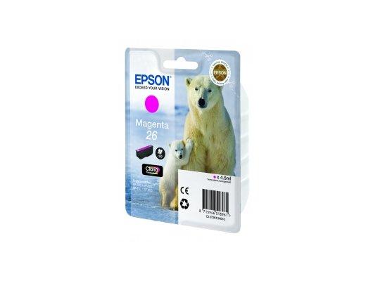 Картридж струйный Epson C13T26134010 magenta для Expression Premium XP-70 (300стр.)