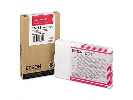 Картридж струйный Epson C13T605300 картридж (Vivid Magenta для Stylus Pro 4880 (110ml) (насыщенный пурпурный))