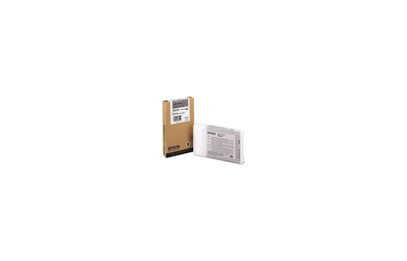 Картридж струйный Epson C13T603700 картридж (Light Black для Stylus PRO 7800/7880/9800/9880 (220ml) (серый))