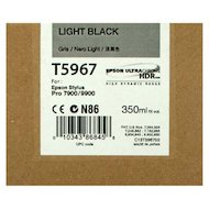 Фото Картридж струйный Epson C13T596700 картридж (Light Black для Stylus PRO 7900/9900 (350ml) (серый))
