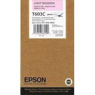 Картридж струйный Epson C13T603C00 картридж (Light Magenta для Stylus PRO 7800/9800 (220ml) (светло-пурпурный))
