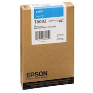 Фото Картридж струйный Epson C13T603200 картридж (Cyan для Stylus PRO 7800/7880/9800/9880 (220ml) (голубой))