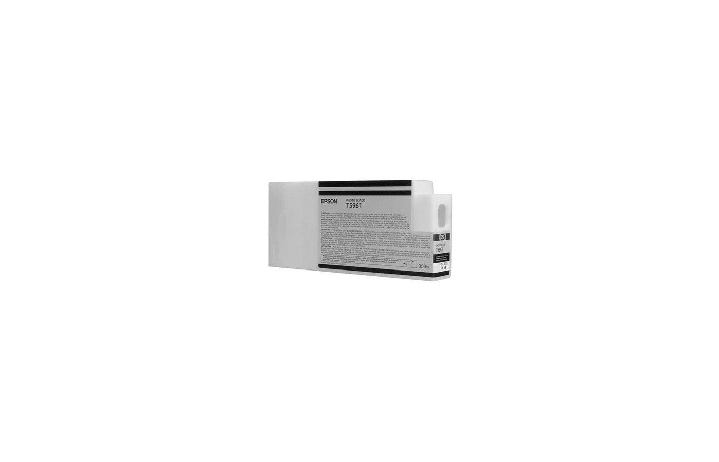Картридж струйный Epson C13T596100 photo black для Stylus Pro 7900/9900 (350 мл)
