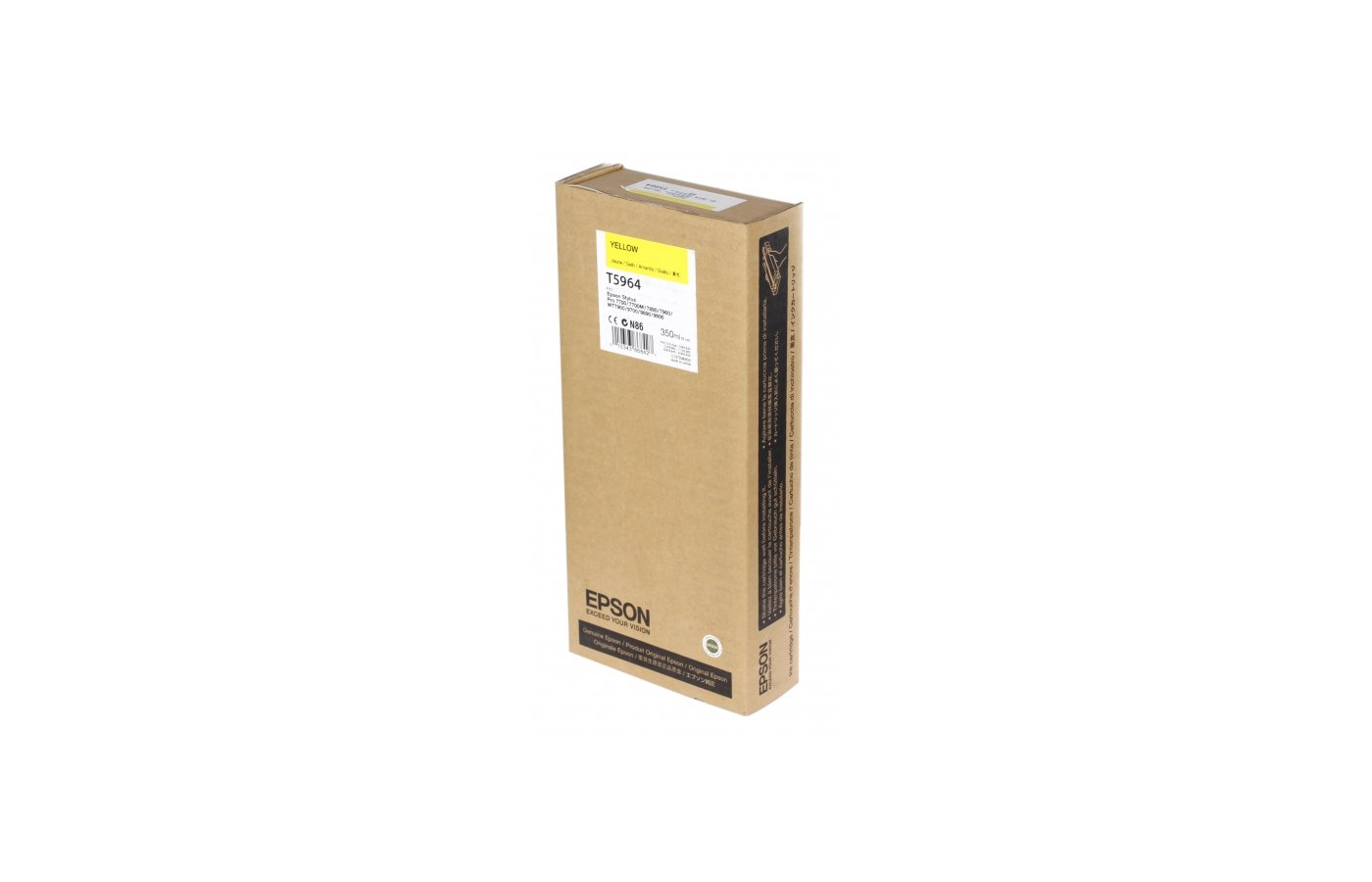 Картридж струйный Epson C13T596400 yellow для Stylus Pro 7900/9900 (350 мл)
