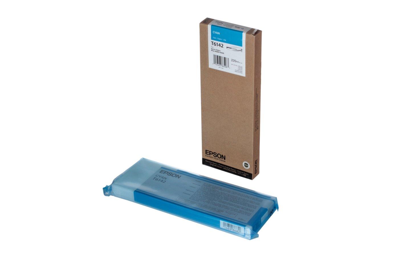Картридж струйный Epson C13T614200 matt cyan для SP4450 (220ml)