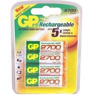 Аккумулятор GP AA 2700mAh Ni-Mh 4шт. (270AAHC-2DECRC4)