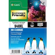 Фото Картридж струйный GG NH-C4906AE Совместимый струйный черный940XL для HP OJ Pro 8000/8500/8000wireless/8500wireless