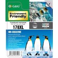 Картридж струйный GG NH-CB322HE Совместимый струйный фото-черный178XL для НР Photosmart D5460/B8550/C5324/C5380/C6324/