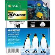 Фото Картридж струйный GG NH-CB336HE Совместимый струйный черный140XL для HP Deskjet D4263/D5363 PS C4283/C4343/C4483