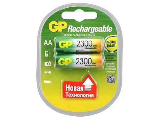 Аккумулятор GP AA 2300mAh Ni-Mh 2шт. (230AAHC-2DECRC2)