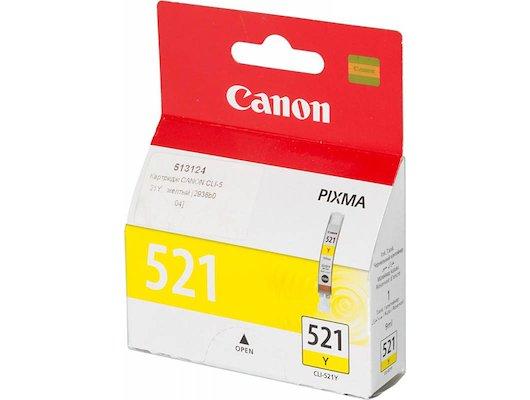 Картридж струйный GG NC-CLI-521Y Совместимый струйный Canon Pixma MP540/550/560/620/630/640/980/990 MX860/870 IP3600/4