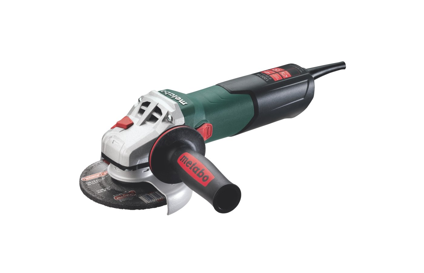 Углошлифмашина METABO WEV 10-125 Quick кейс