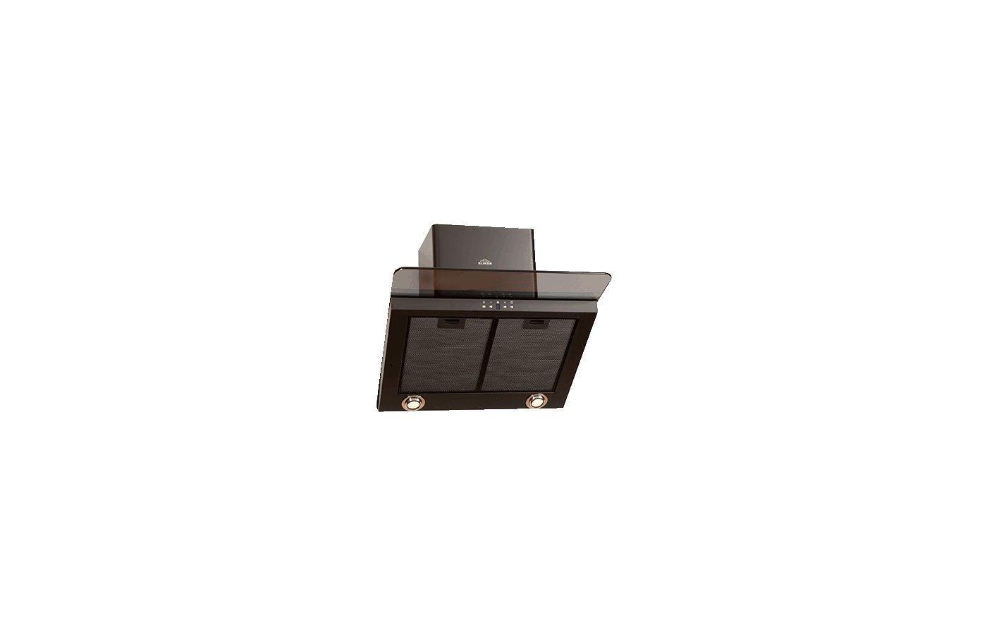 Вытяжка ELIKOR Аквамарин 60П-650-Э7Г черный/тонир