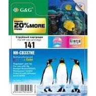 Фото Картридж струйный GG NH-CB338HE Совместимый струйный цветной141XL для HP Deskjet D4263/D5363 PS C4283/C4343/ C4483