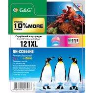 Фото Картридж струйный GG NH-CC644HE Совместимый струйный цветной121XL для HP DJ D2530/D2500/D2560/D2600/D2660/F4274/F4275
