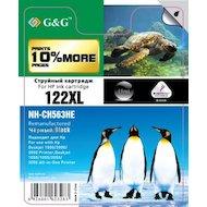 Фото Картридж струйный GG NH-CH563HE Совместимый струйный черный122XL для HP DeskJet 1000/2000/3000/1050//1055/2050/3050