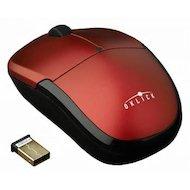 Фото Мышь беспроводная Oklick 575SW+ красный оптическая (1600dpi) беспроводная USB (2but)