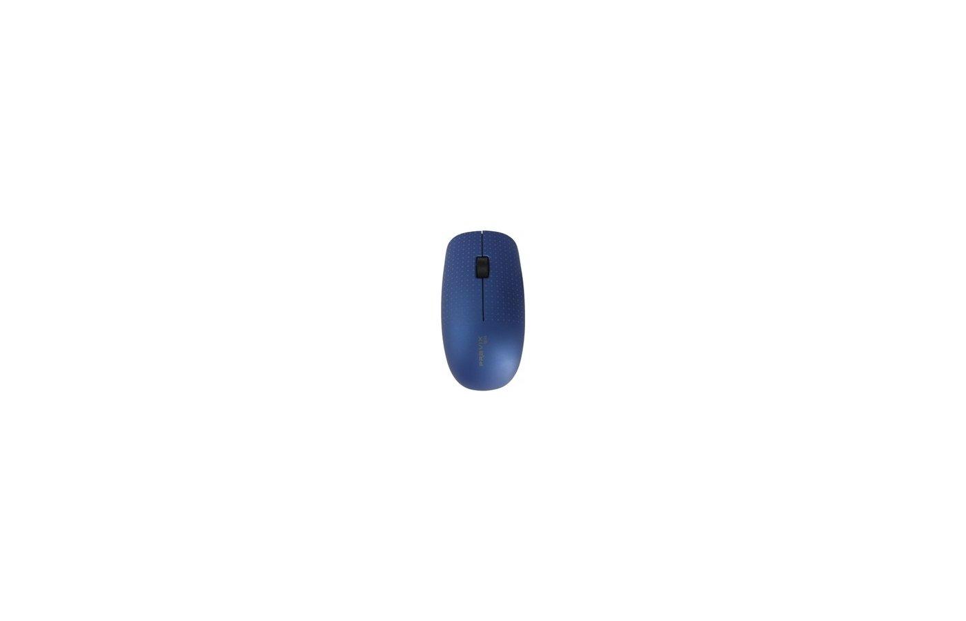 Мышь беспроводная Pravix JRM-V09N темно-синий.