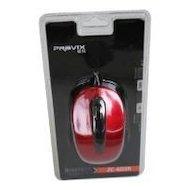 Фото Мышь проводная Pravix ZC-603R, красный глянец, провод 1.5 м, USB-порт
