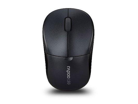 Мышь беспроводная Rapoo 1090p серый оптическая (1000dpi) беспроводная USB (2but)