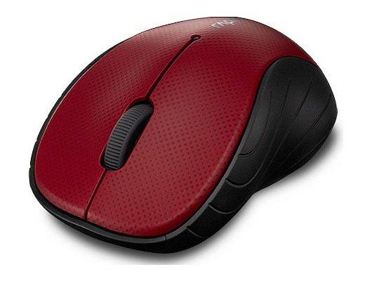 Мышь беспроводная Rapoo 3000p красный/красный оптическая (1000dpi) беспроводная USB (3but)