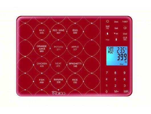 Весы кухонные Scarlett IS565 бордовый