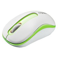 Мышь беспроводная Rapoo M10 белый/зеленый оптическая (1000dpi) беспроводная USB (2but)