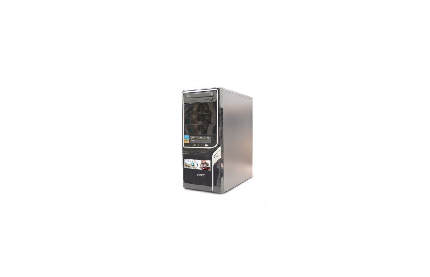 Системный блок РБТ R244 AMD X2 A4 4000 3.0Gh/4Gb/500Gb/HD 7480D/DVD-RW/CR