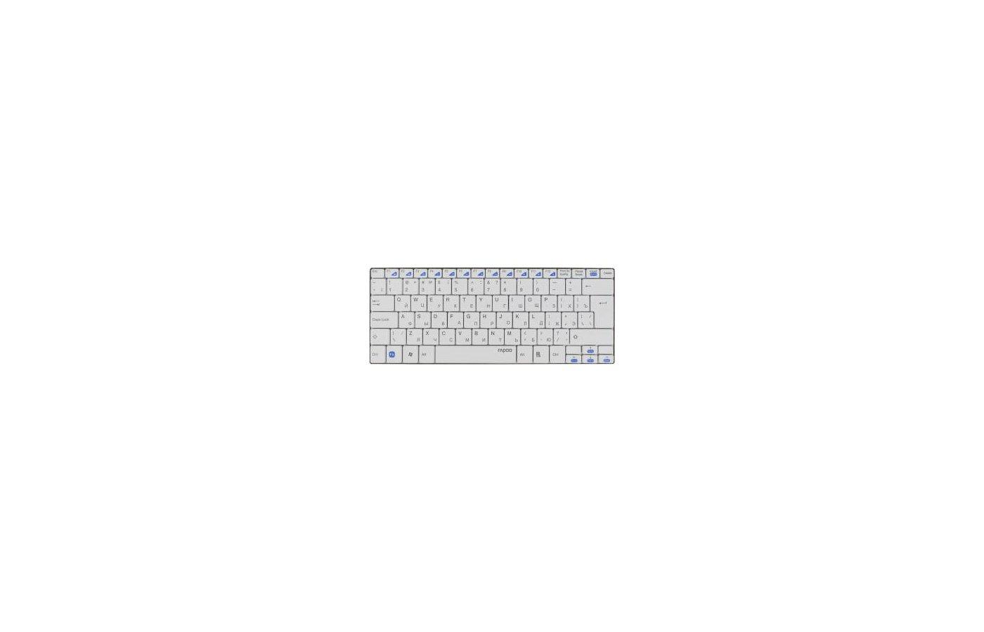 Клавиатура беспроводная Rapoo E9050 белый