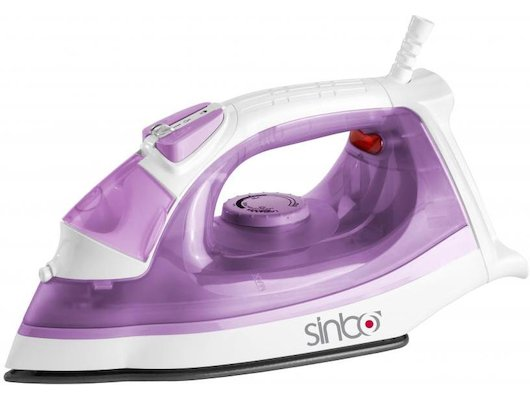 Утюг SINBO SSI 2872 белый/фиолетовый