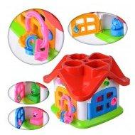 Фото Игра Полесье 9159 Логическая игрушка Теремок в сетке