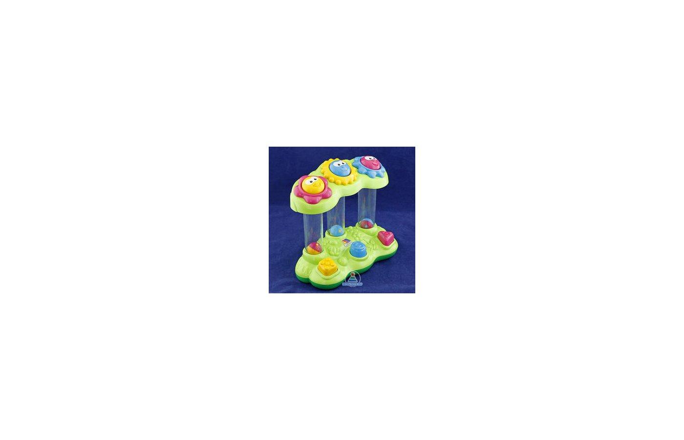 Игра Полесье 47090 Логическая игрушка Забавный сад