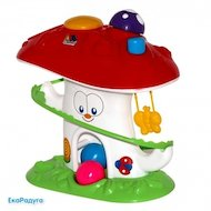 Игра Полесье 47892 Логическая игрушка Забавный гриб