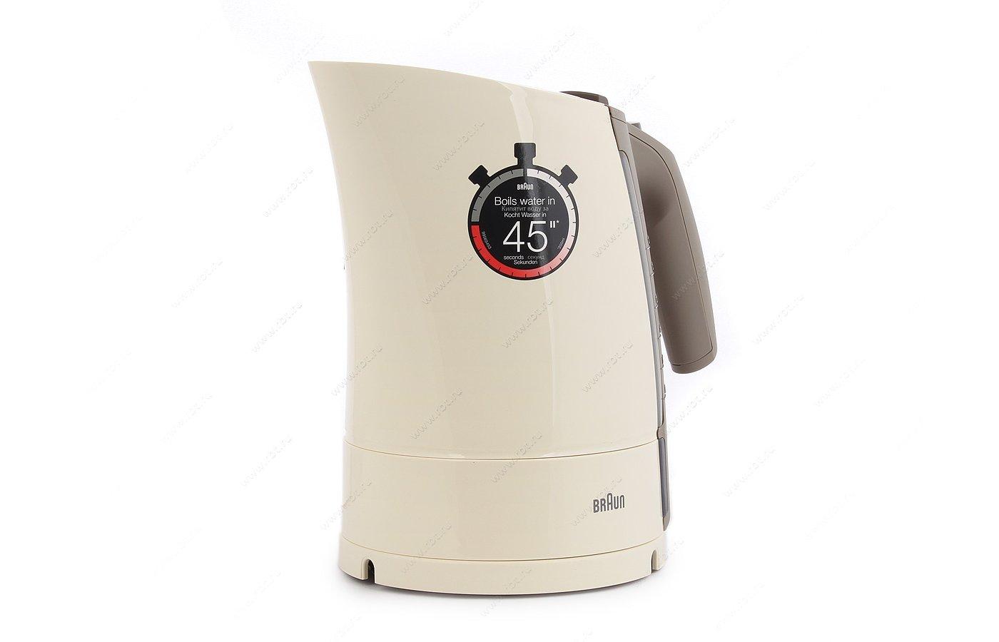 Чайник электрический  BRAUN WK 300 кремовый