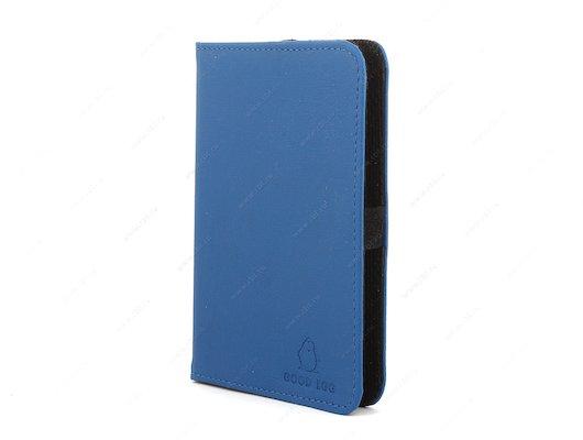 Чехол GoodEgg для PocketBook 515 кожа синий (GE-PB515LIR2227)